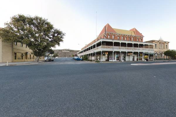 Broken Hill, Town Centre